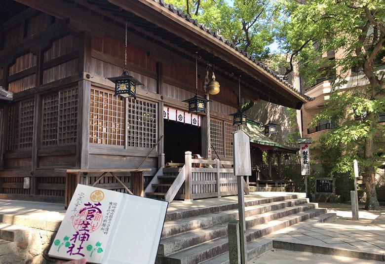 家康公ゆかりの「菅生神社」