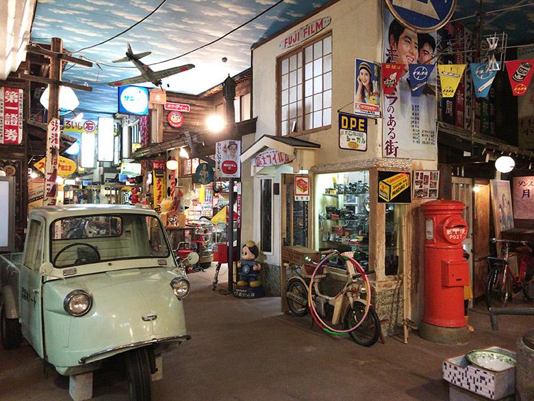 """高山市の""""古い町並み""""近くにあるレトロな「高山昭和館」は、昭和30年代 ..."""