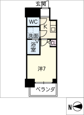 S-RESIDENCE鶴舞 4階