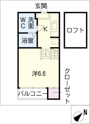 Bliss House 2階