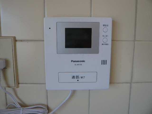 ウエストハウス オーモン 3階 TVモニターフォン