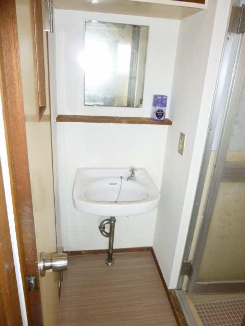 コーポ岡本 4階 洗面