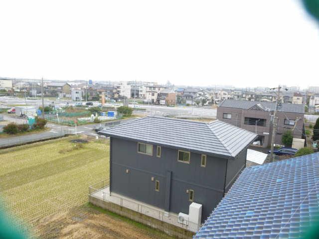 コーポ岡本 4階 眺望
