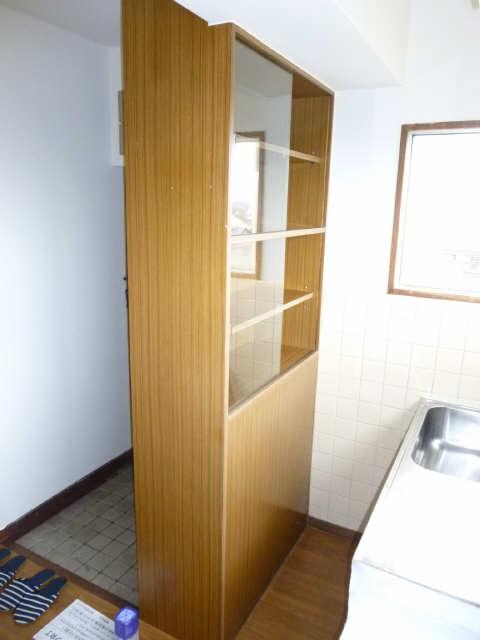 コーポ岡本 4階 食器棚
