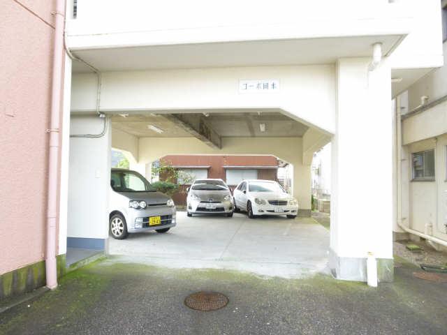 コーポ岡本 4階 駐車場