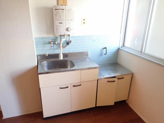 鹿野マンション 2階 キッチン