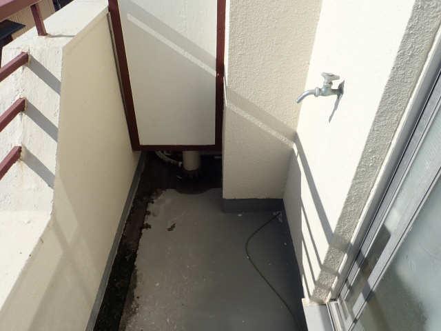 鹿野マンション 2階 洗濯機置場