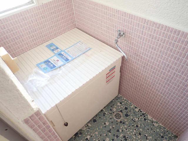 鹿野マンション 2階 浴室