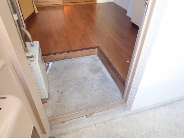 鹿野マンション 2階 玄関