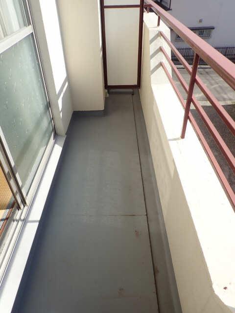 鹿野マンション 2階 バルコニー