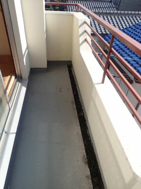 鹿野マンション 3階 バルコニー
