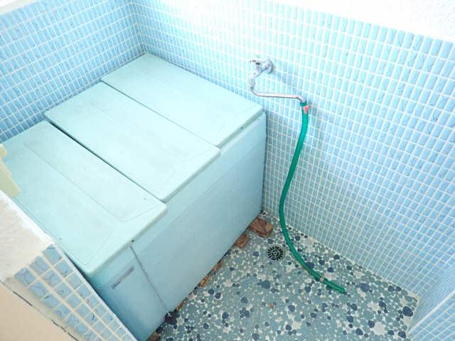 鹿野マンション 4階 浴室