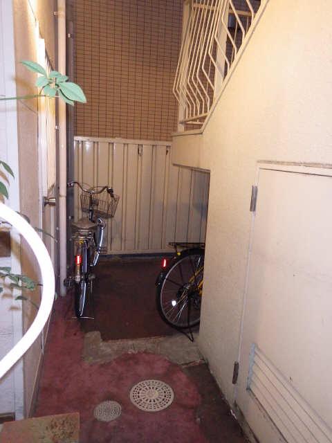 金森ハイツ 3階 駐輪場
