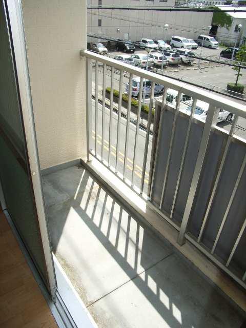 キングスマンション2号館 3階 ベランダ