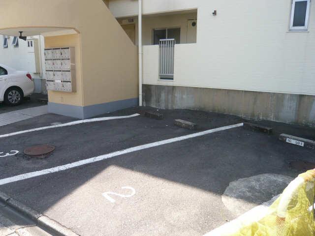 ヴィラ沖田 駐車場