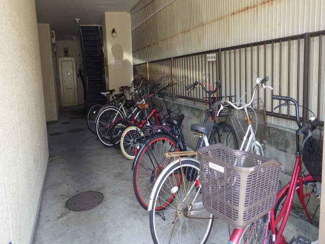 タウンハイツ松原 3階 駐車場