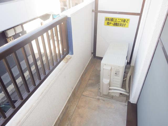 タウンコート岩塚 3階 バルコニー