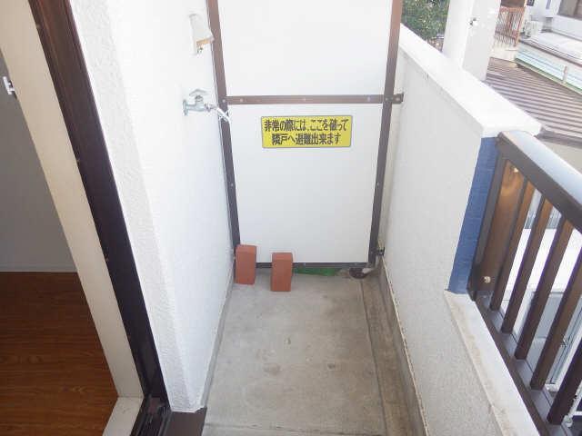 タウンコート岩塚 3階 洗濯機置場