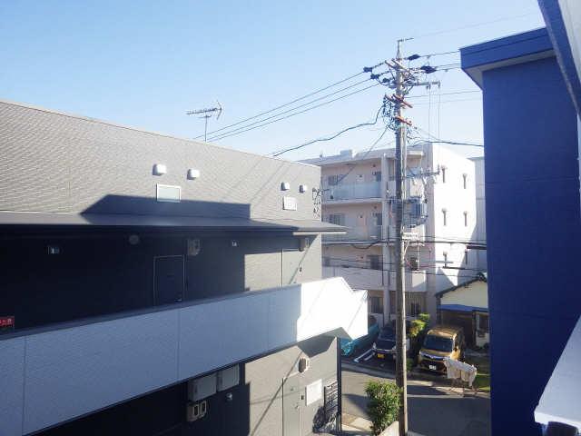 タウンコート岩塚 3階 眺望