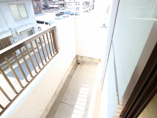 タウンコート岩塚 2階 ベランダ