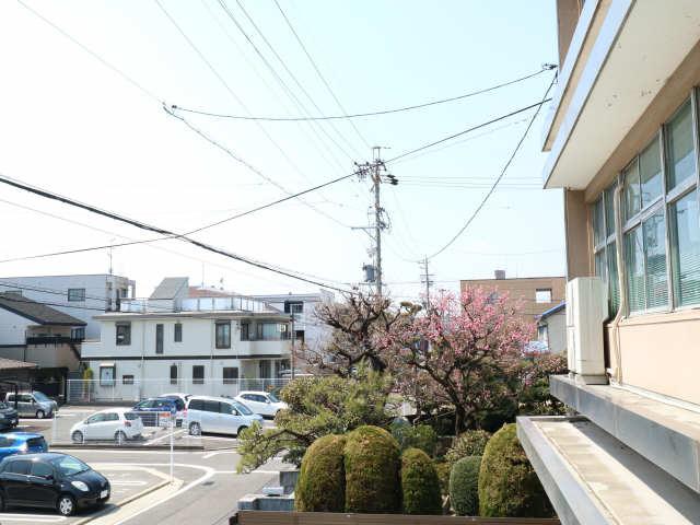 タウンコート岩塚 2階 眺望