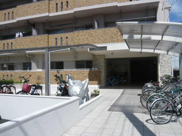 サンハイツつるや 駐輪場