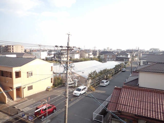 吉屋ビル 4階 眺望