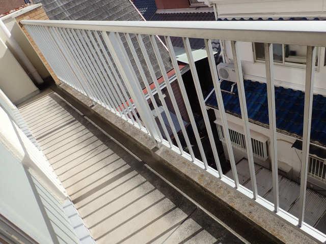 第2メゾンキジ 3階 バルコニー