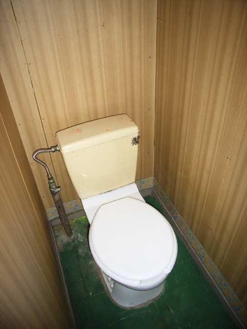 コーポ藤 簡易水洗トイレ