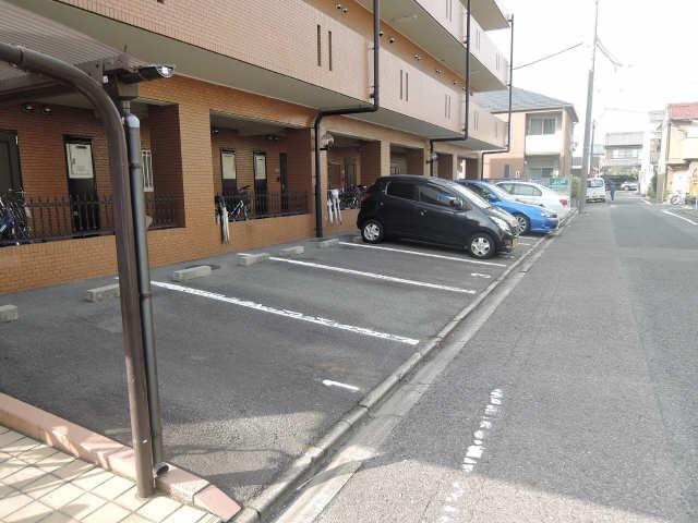 サンシャイン稲上 1階 駐車場