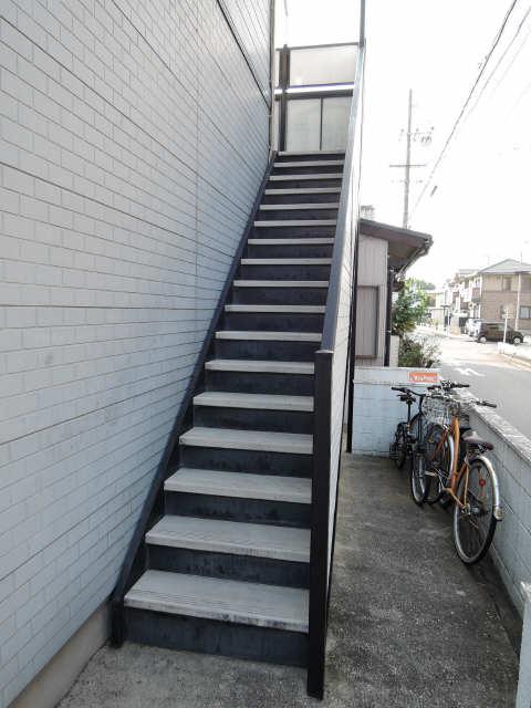 パレス高畑 階段