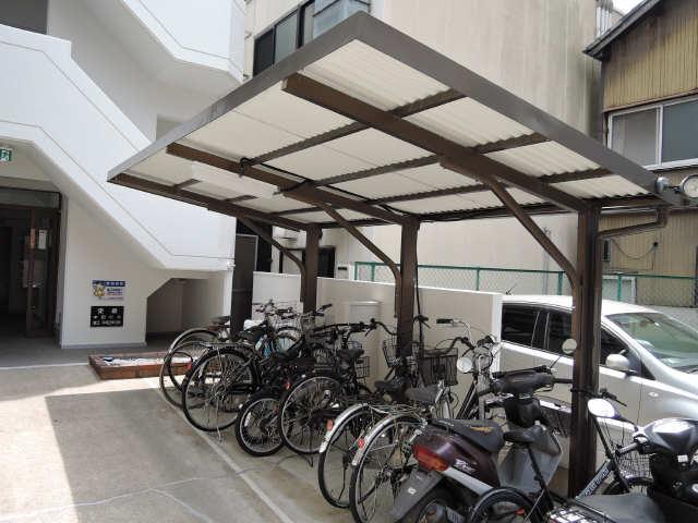 サンライズノリタケ 2階 駐輪場