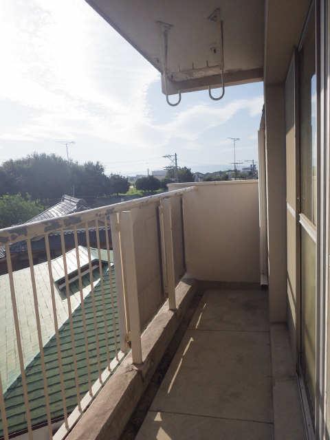 スカイレジデンス 4階 バルコニー