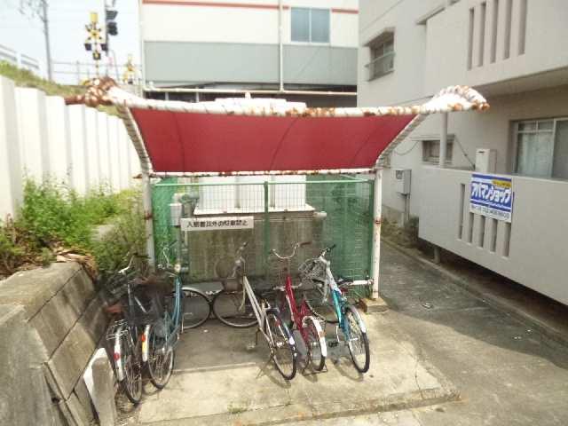 北中野ハイツ 駐輪場
