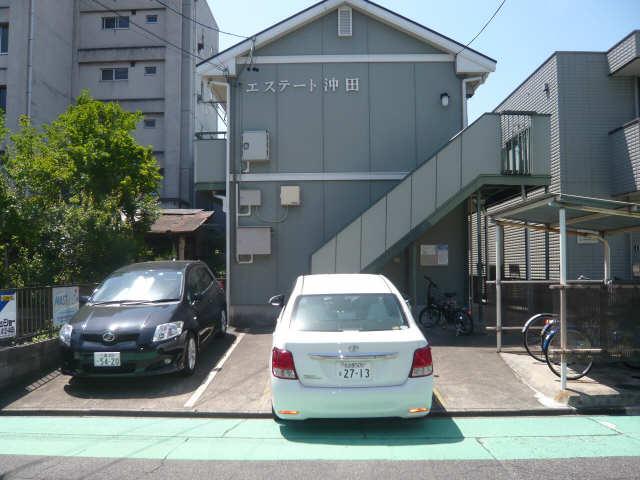 エステート沖田 駐車場