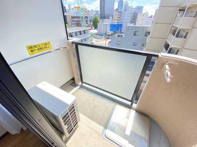 ウインバードM・K 6階 バルコニー