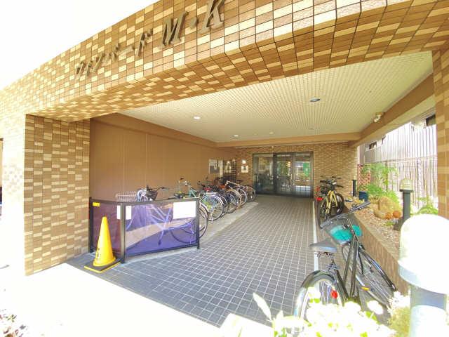 ウインバードM・K 6階 駐輪場