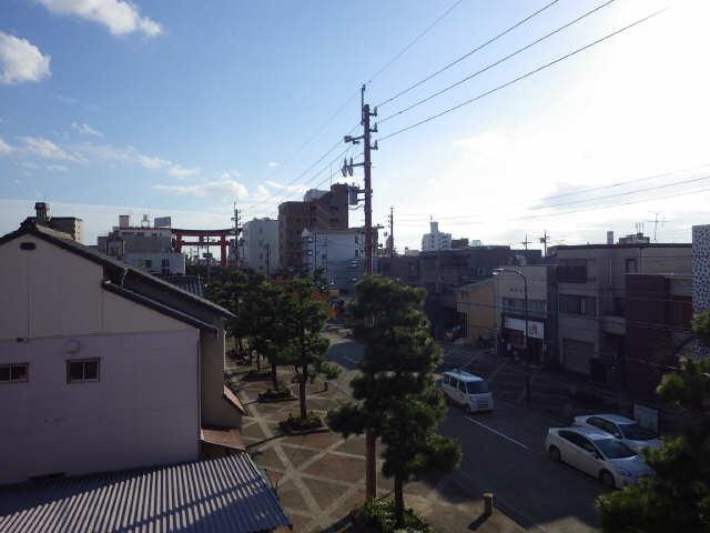 アローフィールドビル 3階 眺望