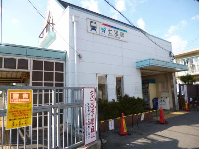 名鉄津島線七宝駅
