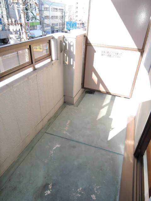 カーサ アクティス 4階 ベランダ