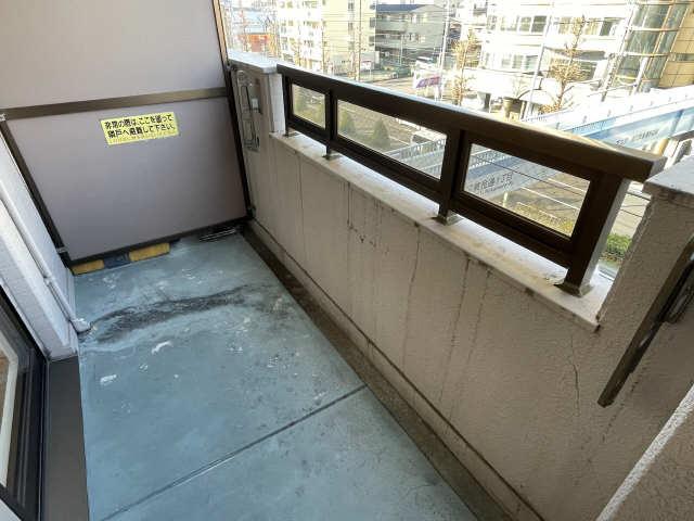 カーサ アクティス 4階 バルコニー