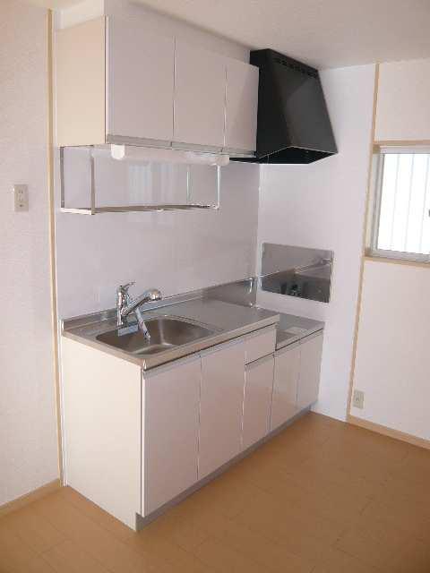 ドエル・グレース 203号室キッチン