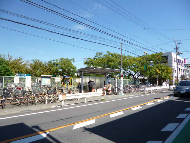 大治役場前バス停