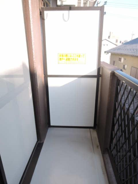 サンライズヤスクニ 3階 ベランダ