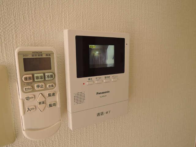 サンライズヤスクニ 3階 モニター付インターホン