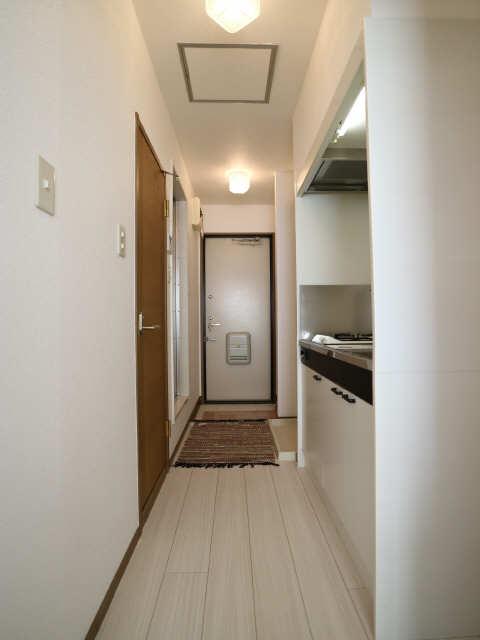 ベルデュール稲上 1階 玄関