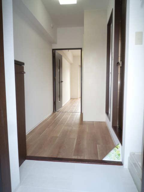 グリーンコーポ千成 1階 玄関
