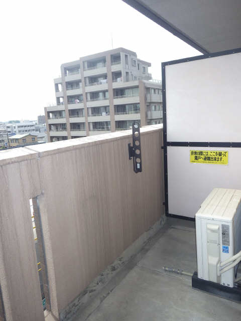 マ・メゾン・プルミエ 6階 ベランダ