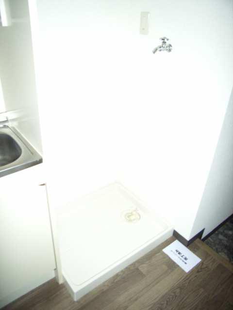 ウィズネス 2階 洗濯機置場