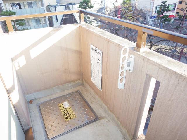 CASTLEワタナベ 4階 バルコニー